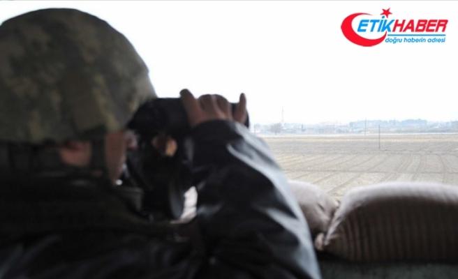 Suriye'nin kuzeyinden kaçan 5 YPG/PKK'lı terörist teslim oldu