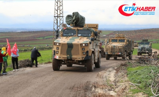 Suriye sınırına 300'ü aşkın araçlık askeri sevkiyat