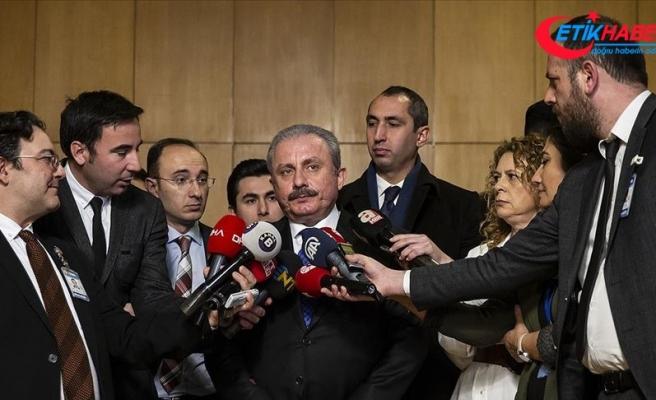 TBMM Başkanı Şentop: Parlamentonun yanlış yapmayacağına inanıyorum