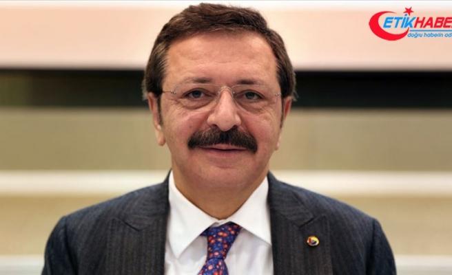 TOBB Başkanı Hisarcıklıoğlu: Arzumuz İngiltere ile en kısa sürede STA yapılması