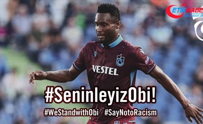 Trabzonspor'dan Obi Mikel'e yönelik ırkçı saldırılar için suç duyurusu