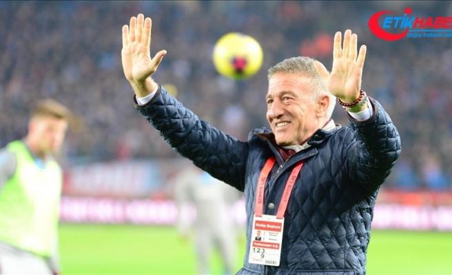 Trabzonspor Kulübü Başkanı Ağaoğlu: Sadece bir maç geçtik