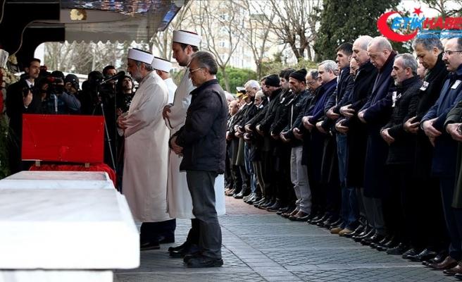 Van şehidi Uzman Onbaşı Erat, Erdoğan'ın katıldığı törenle son yolculuğuna uğurlandı