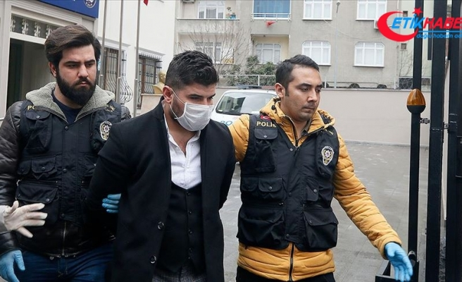 Bağcılar'da bir kişiye zorla maske takan ve kolonya döken kişi adliyeye sevk edildi