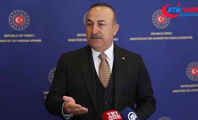 """Çavuşoğlu, Türkiye'nin """"Girişimci ve İnsani Dış Politika"""" vizyonunu değerlendirdi"""