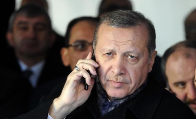 Cumhurbaşkanı Erdoğan, Albayrak ve Terim'i arayarak geçmiş olsun dileklerini iletti