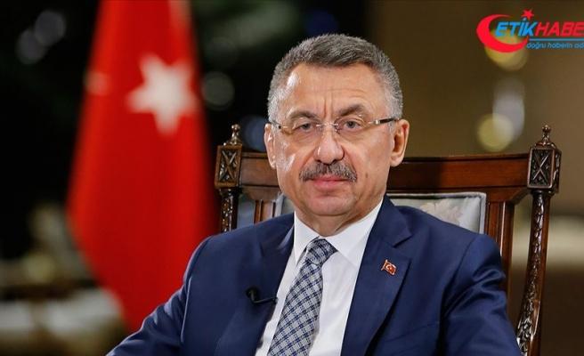 Cumhurbaşkanı Yardımcısı Oktay: Sınırlarımızda oluşturulmaya çalışılan terör devletinin ve insani dramın önüne geçeceğiz