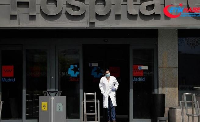 İspanya'da Kovid-19'dan son 24 saatte 435 kişi öldü