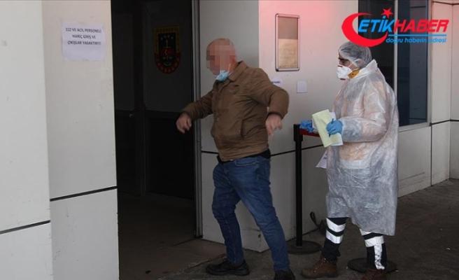 İstanbul'da karantinadan kaçan kişi Tekirdağ'daki evine geldi