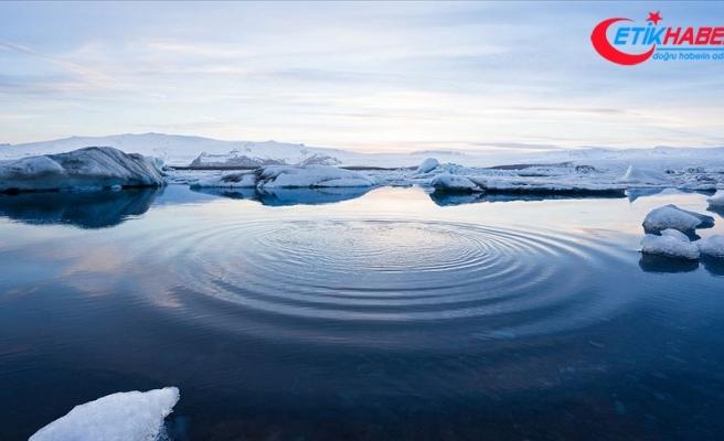 Kutup dairelerinde deniz buzu yüz ölçümü 30 yıllık ortalamanın altında kaldı
