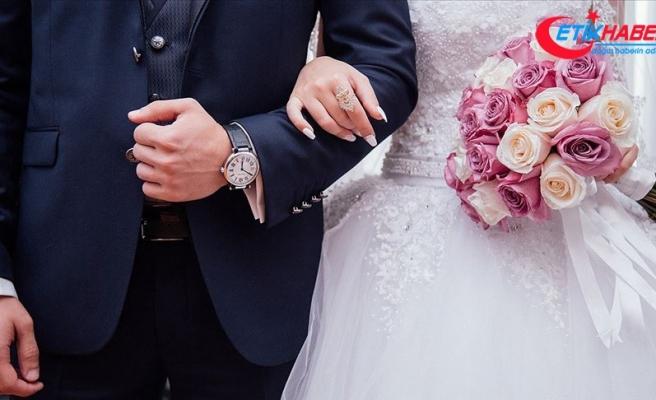 Korona virüs tedbirleri nikah sayısını yüzde 80 azalttı