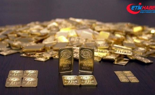 Güne düşüşle başlayan gram altın 383,6 liradan işlem görüyor