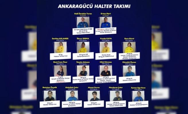 Ankaragücü Kulübü, halter takımı kurdu