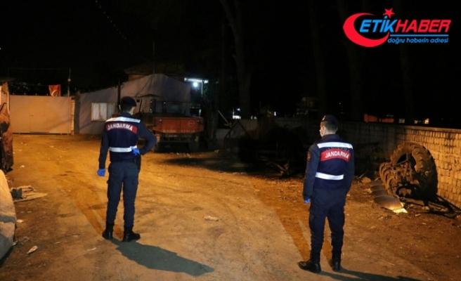 Aydın'da 22 ev karantinaya alındı