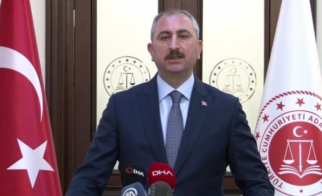 """Bakan Gül: """"120 tutuklu ve hükümlüye Covid-19 tanısı konuldu"""""""