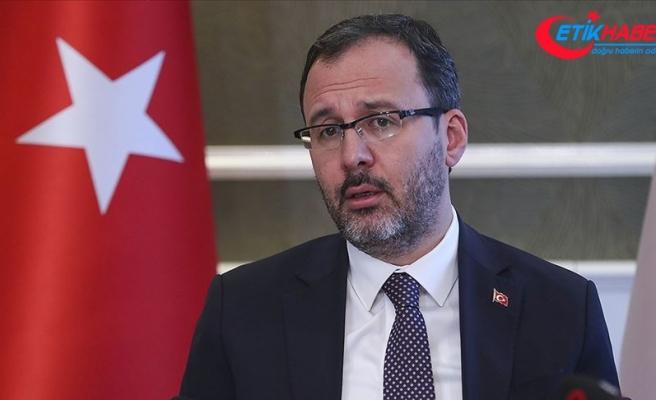 Bakan Kasapoğlu: 47 ilde 73 yurtta 3 bin 120 sağlık personelini misafir ediyoruz