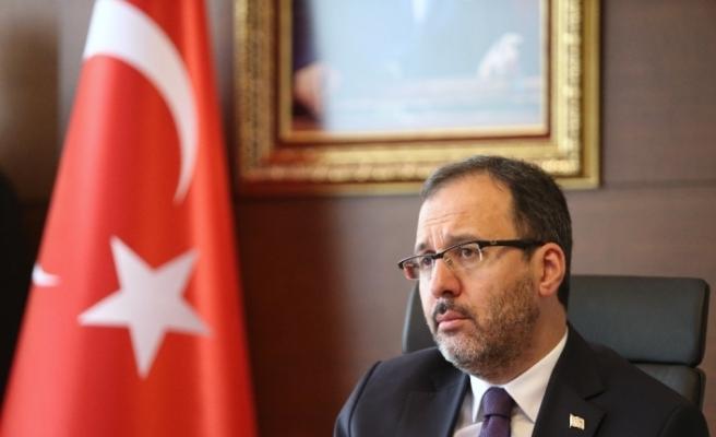 """Bakan Kasapoğlu: """"76 ildeki yurtlarımızda, 9 bin 647 vatandaşımıza ev sahipliği yapılıyor"""""""