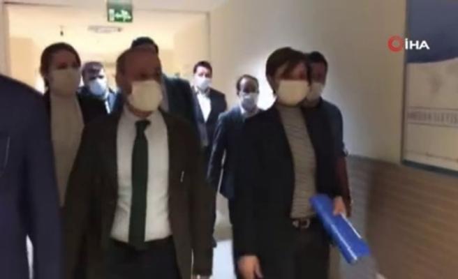 CHP İstanbul İl Başkanı Canan Kaftancıoğlu ifade için adliyede
