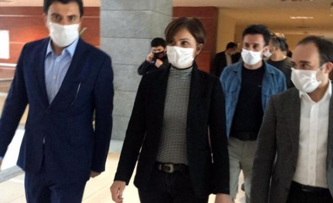 CHP İstanbul İl Başkanı Canan Kaftancıoğlu ifade verdi