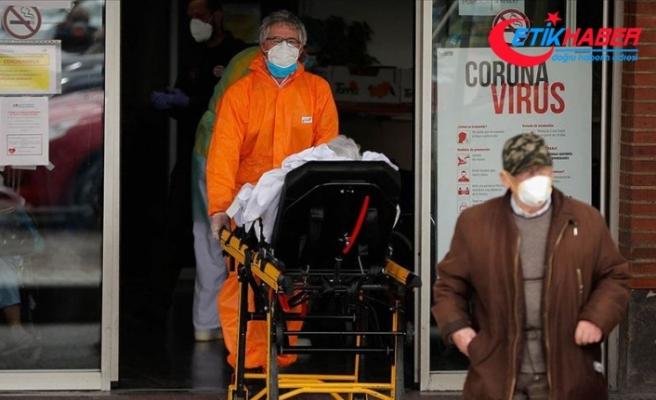 İspanya'da Kovid-19 kaynaklı ölüm artış hızındaki düşüş sürüyor