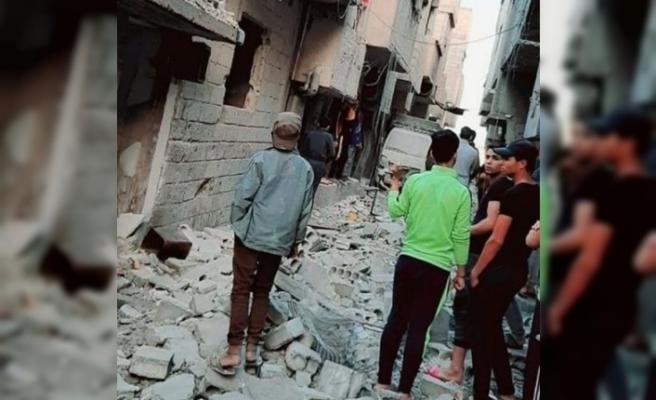 İsrail'in Suriye'ye hava saldırısında 3 sivil hayatını kaybetti