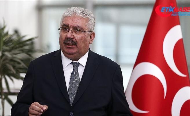 MHP'li Yalçın: CHP-İP-HDP üçlüsü, PKK ve Fetullahgillerin infaz indiriminden yararlanamamasından rahatsız