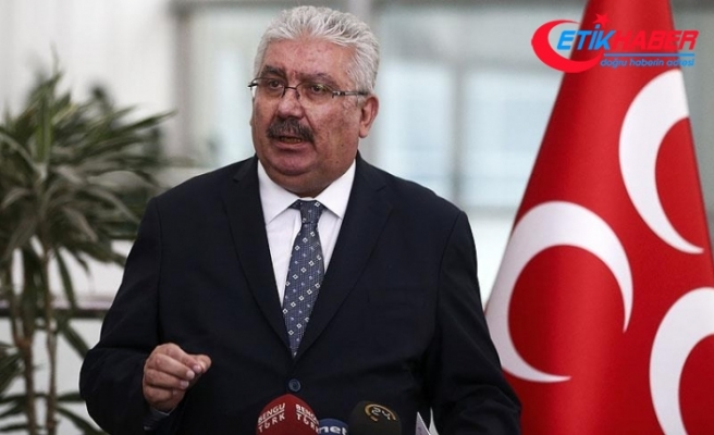 MHP'li Yalçın: MHP, iç ve dış tehditler karşısındaki sarsılmaz siyasi teşkilatlanmadır
