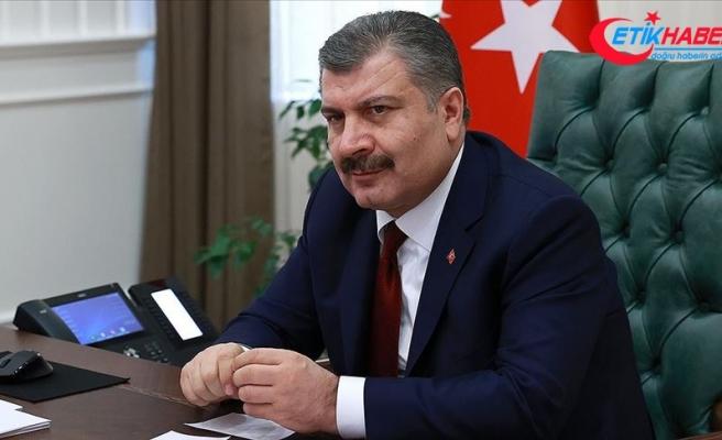 Sağlık Bakanı Koca: Son 20 günde yeni vaka sayısının en düşük olduğu gün bugün oldu