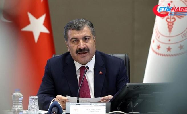 Sağlık Bakanı Koca: Son 24 saatte vefat sayısı 98 oldu