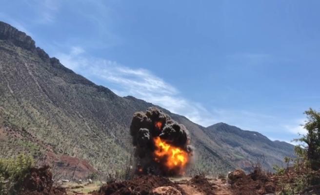 Siirt'te PKK'lı teröristlerin hain tuzağı son anda önlendi