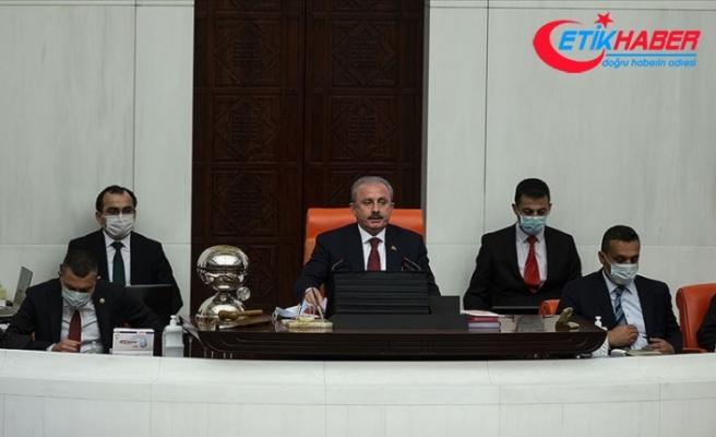 TBMM Başkanı Şentop: Gazi Meclisi'miz Milli Mücadele'nin bizzat merkezi ve karargahıdır
