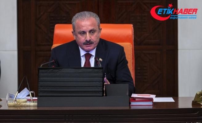 TBMM Başkanı Mustafa Şentop: Gazi Meclisimiz Milli Mücadele'nin karargahıdır
