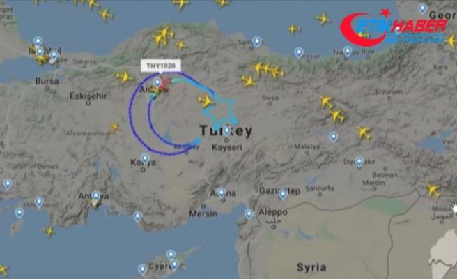 THY'nin 'TK1920' kodlu özel uçuşu tamamlandı