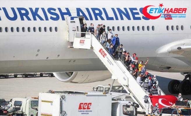 Yurt dışından 5 bin 284 Türk vatandaşı daha tahliye edildi