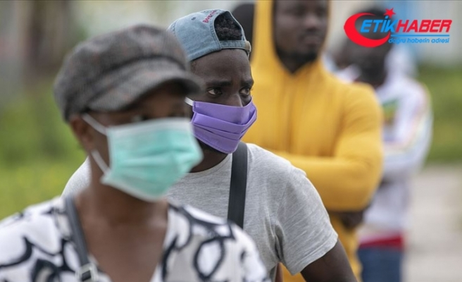 Afrika'da Kovid-19 vaka sayısı son 24 saatte 2 binden fazla arttı
