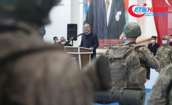 Bakan Soylu: Yurt içindeki terörist sayısı 486'ya kadar düştü