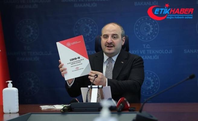 Bakan Varank 'Covid-19 Hijyen, Enfeksiyon Önleme ve Kontrol Kılavuzu'nu tanıttı