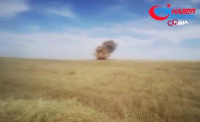 Barış Pınarı bölgesinde komandolardan EYP imhası