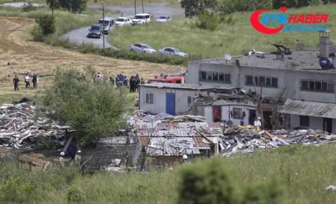 Başakşehir'de fabrikada patlama: 2 kişi vefat etti