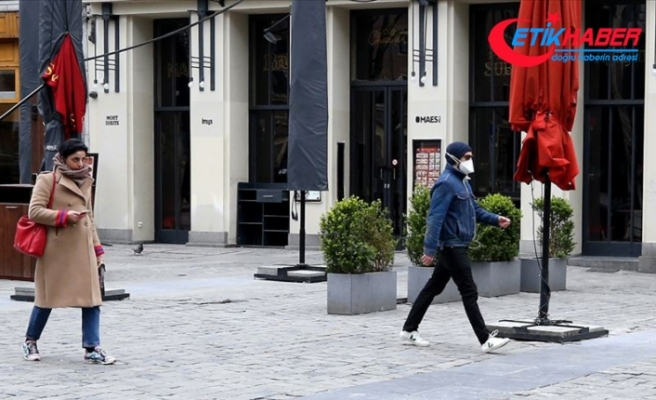 Belçika'da Kovid-19 vakası sayısı 54 bini aştı