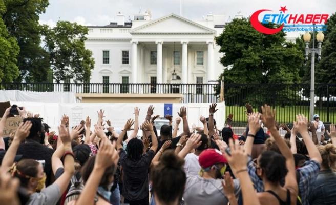 Beyaz Saray tecrit altında