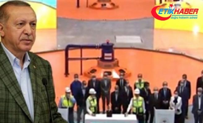 Cumhurbaşkanı Erdoğan açılış sırasında anında uyardı: Biz yapalım ki...