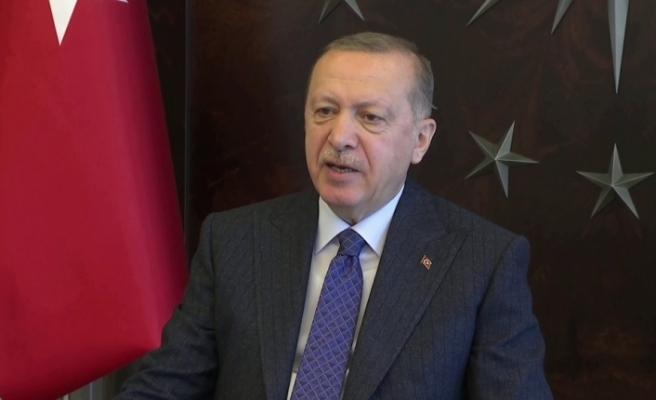 Cumhurbaşkanı Erdoğan, Irak Cumhurbaşkanı Berham Salih'le telefonda görüştü