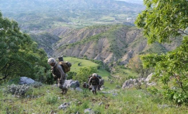 Diyarbakır'da bir terörist ölü, bir terörist sağ ele geçirildi