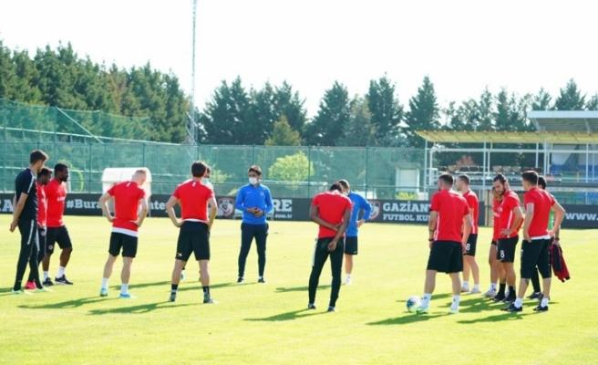 Gaziantep FK korona sonrası ilk antrenmanını yaptı