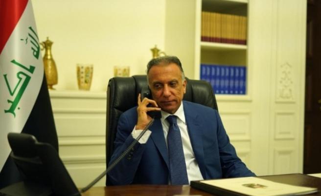 Irak Başbakanı El-Kazimi, ABD Başkanı Trump ile telefonda görüştü  (Fotoğraflı)