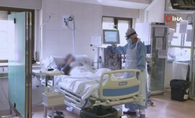 İspanya'da son 24 saatte koronadan 281 kişi öldü