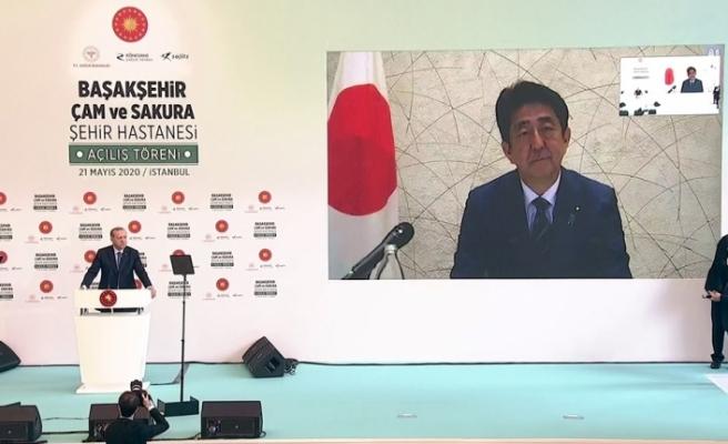 """Japonya Başbakanı Abe: """"Geliştirdiğimiz ilacı Türkiye'ye bağışlıyoruz"""""""