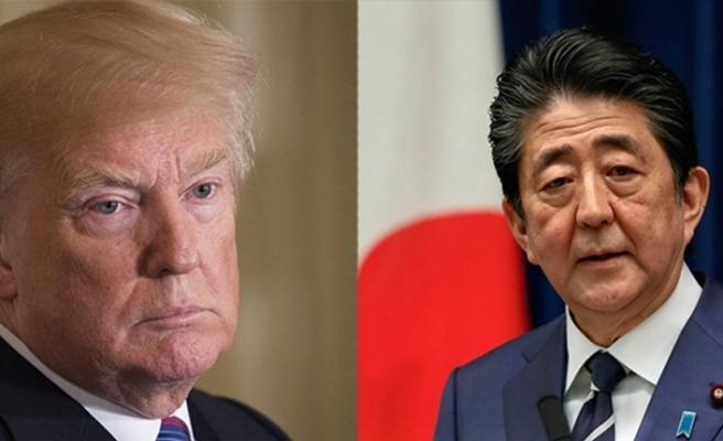 Japonya Başbakanı Abe ve ABD Başkanı Trump telefonda görüştü