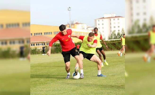 Kayserispor çift kale maç yaptı